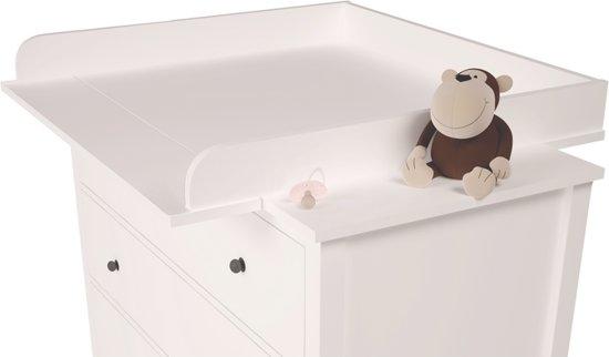 Wonderlijk bol.com | Polini Aankleedblad voor IKEA Hemnes Wit FA-03