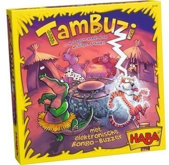 Haba Spel Spelletje vanaf 6 jaar Tambuzi