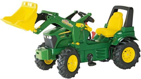 John Deere Tractor Schakel met Rubberwielen