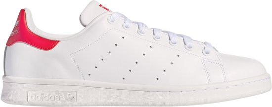 adidas Stan Smith Sneakers - Maat 38 - Mannen - wit/rood