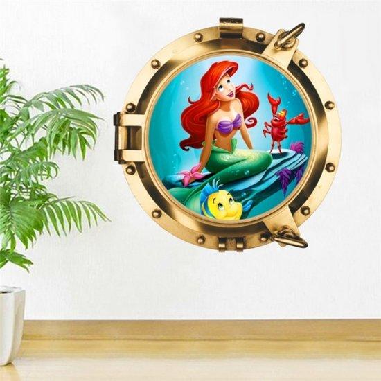 Muurdecoratie Kinderkamer Disney.Bol Com Muursticker Disney Kleine Zeemeermin Ariel