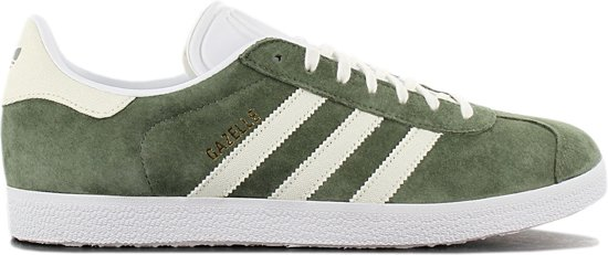 adidas Gazelle Sneakers Heren Base Green Off White Ftwr White