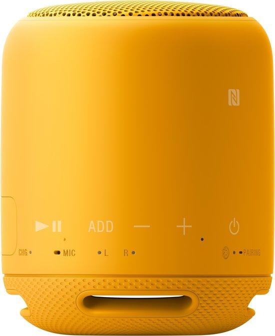 Sony SRS-XB10 draagbare bluetooth speaker geel