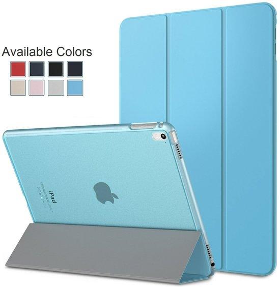 iPad mini 1 / 2 /3 7,9 Inch Smart Case Cover Hoes / Full Body Protection. Met Magnetische Auto Wake en Automatisch Uit Functie, Lichtblauw. in Zolder