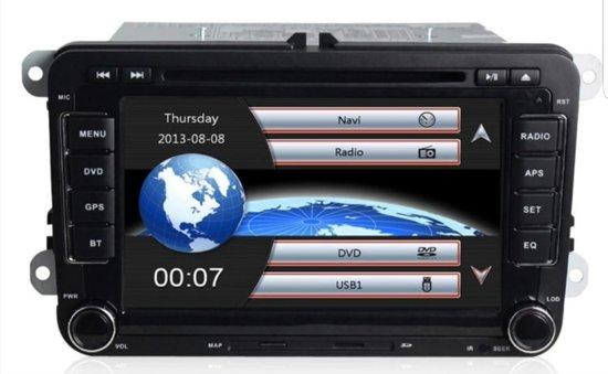 RNS 510 voor Volkswagen/Seat/Skoda Nederlands gesproken Europa-navigatie systeem met Bluetooth gratis achteruitrijcamera & microfoon