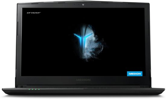 MEDION ERAZER P6605 - GeForce GTX 1050, 8 GB RAM, 256 GB SSD, 1 TB HDD, 15.6 inch