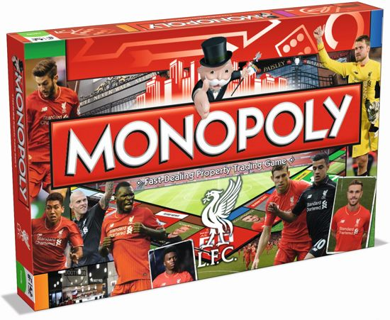 Liverpool Fc Monopoly Board Game - Bordspel