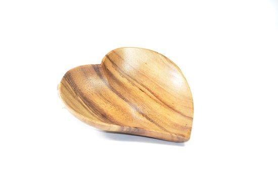 set van 2 - serveerschaaltje - 15 cm - hartvorm - Kinta