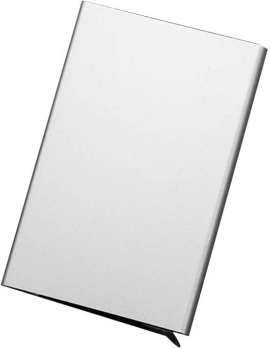 RFID Cardprotector - Anti Skim - Creditcard Holder - Pasjeshouder - Portemonnee - Zilver