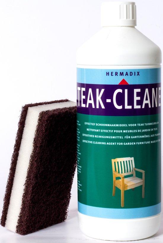 Hermadix Teak-cleaner, schoonmaak middel teak hout, 1 liter