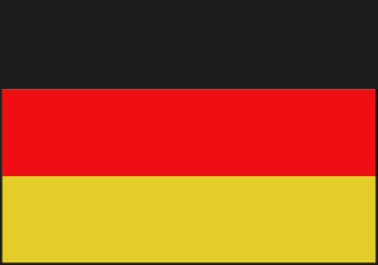 Talamex Duitse vlag 50 x 75 cm