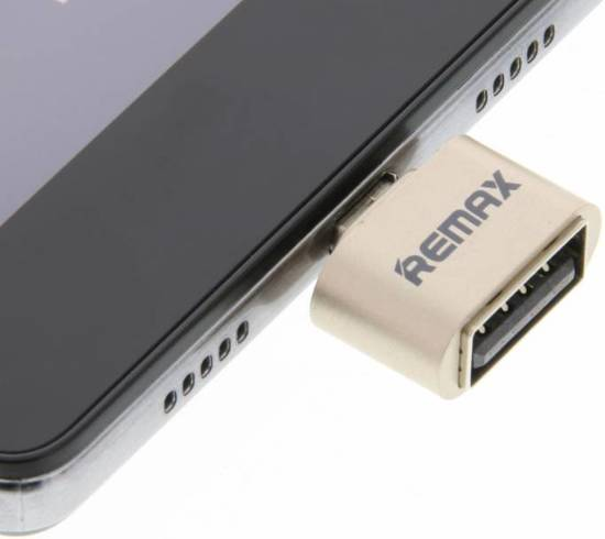 REMAX Micro-USB naar USB OTG adapter