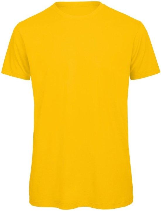 Katoen Shirt Senvi Kleur Basic T Maat M 5 Geel100Biologisch Pack oQrxBWedC