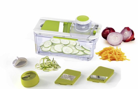 Enrico Alles in 1 Keukenmandoline - Groen