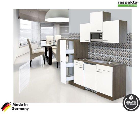 Respekta® rechte keuken 'Bilbao' compleet incl. apparatuur