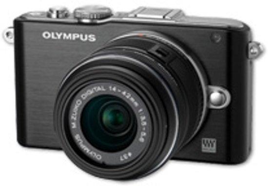 Olympus PEN E-PL3 + 14-42mm  - Systeemcamera - Zwart