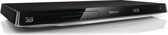 Philips BDP5500/12 - 3D Blu-ray speler - Wi-Fi - Smart TV