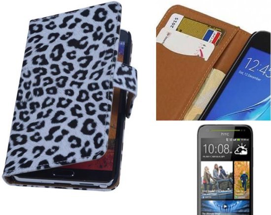 MP Case Chita Bookstyle Hoes voor HTC Desire 700 Wit in Elsloo / Elslo