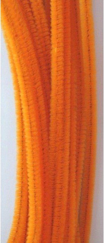 Chenilledraad Oranje.