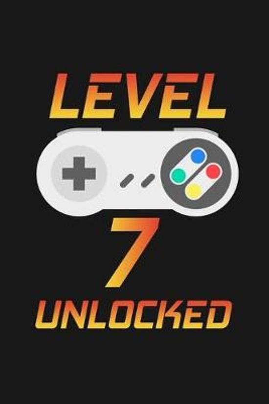 Level 7 Unlocked: Happy 7th Birthday 7 Years Old Gift For Gaming Boys And Girls
