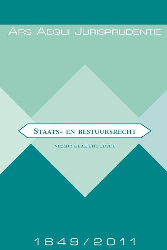 Boek cover Staats- en bestuursrecht Jurisprudentie 1849-2011 van A.J. Bok (Paperback)