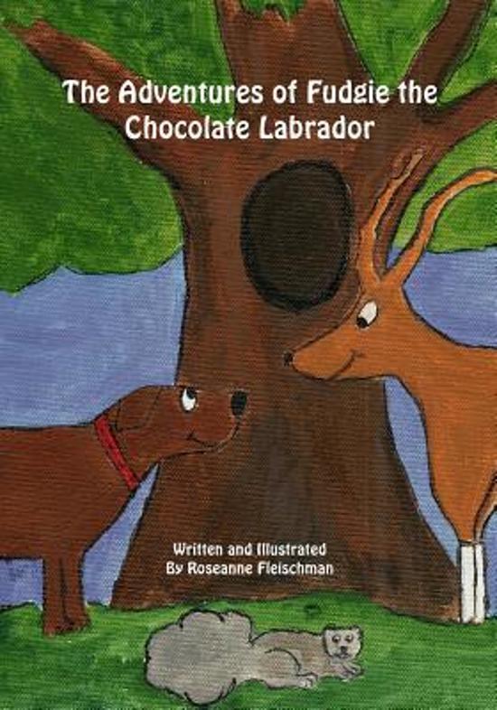 The Adventures of Fudgie the Chocolate Labrador