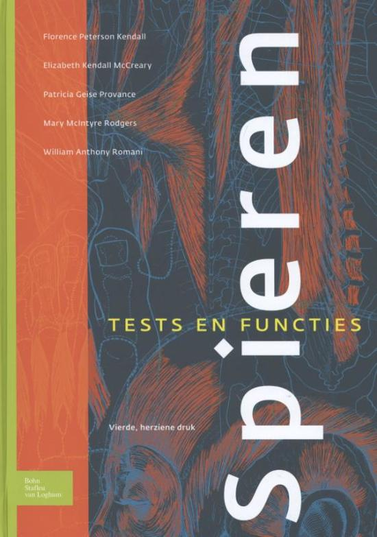 Boek cover Spieren van Florence Peterson Kendall (Hardcover)