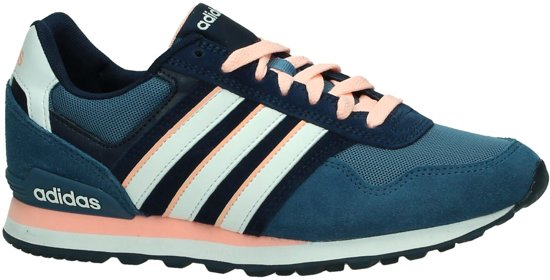 adidas sneakers dames blauw