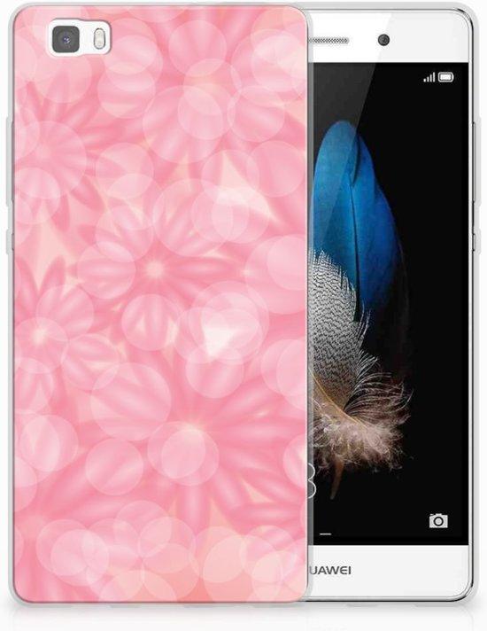 Huawei Ascend P8 Lite Uniek TPU Hoesje Spring Flowers