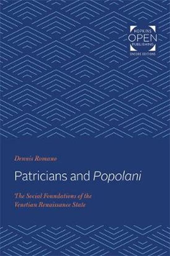 Patricians and Popolani