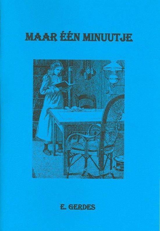 Maar een minuutje - Gerdes, E. pdf epub