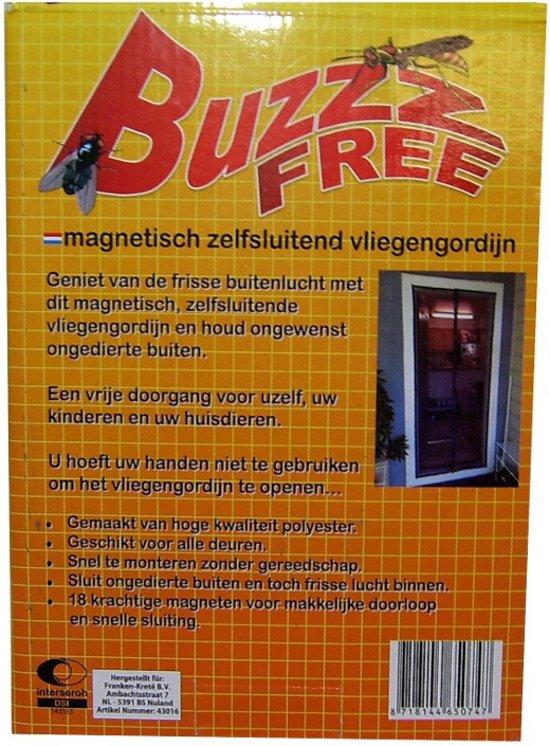 Vliegengordijn 110 Cm.Buzzz Free Magnetische Hor Zelfsluitend Vliegengordijn Door Magneten 100x220 Cm Tegen Ongedierte