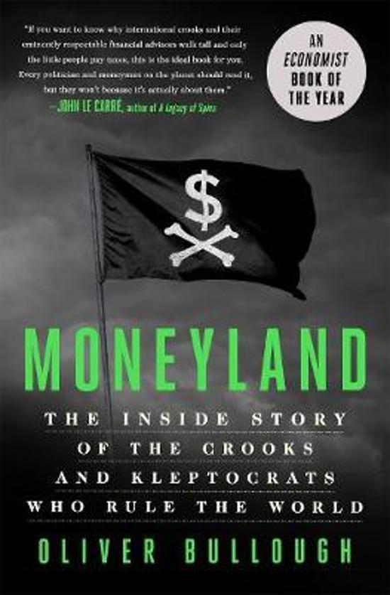 Boek cover Moneyland van Oliver Bullough (Hardcover)