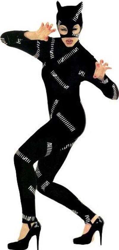"""""""Kattenkostuum voor dames Halloween - Verkleedkleding - Medium"""""""