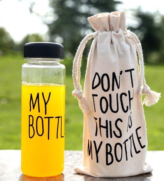 Bol Com My Bottle Drinkfles Inclusief Beschermzak