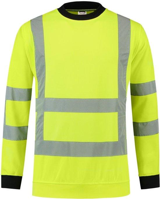 Tricorp Sweater RWS - Workwear - 303001 - Fluor Geel - maat S