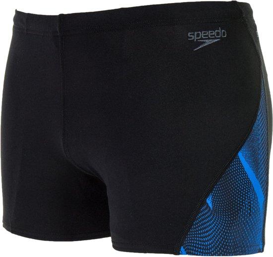 Zwembroek Voor Mannen.Bol Com Speedo Endurance Curve Pan Zwembroek Mannen Zwart Blauw