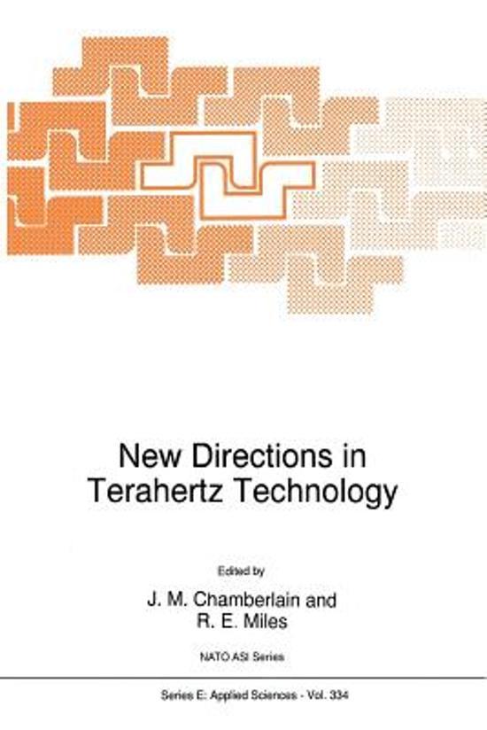 New Directions in Terahertz Technology