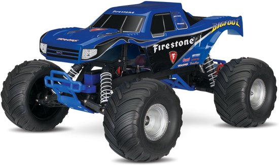Traxxas Bigfoot Monster Truck Blauw