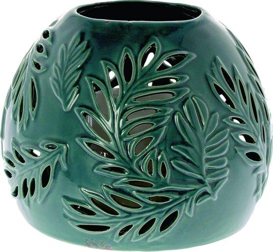 Riverdale Windlicht Siesta - groen - 15cm