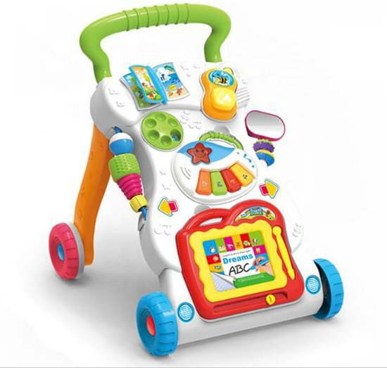 bol | loopwagen - baby walker - loopsteun kind, solutions store
