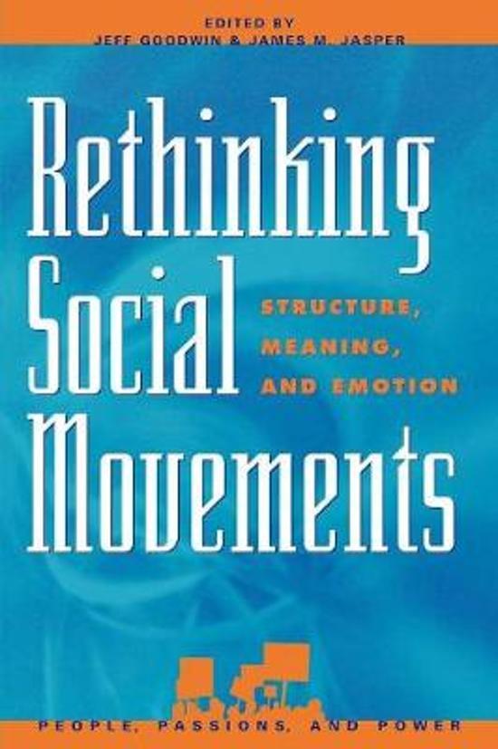 Boek cover Rethinking Social Movements van Myra Marx Ferree (Paperback)
