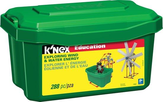 K'NEX Education Exploring Wind & Water Energy - Bouwset