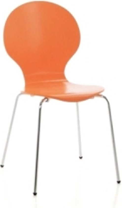 Oranje Vlinderstoel - Eetkamerstoel