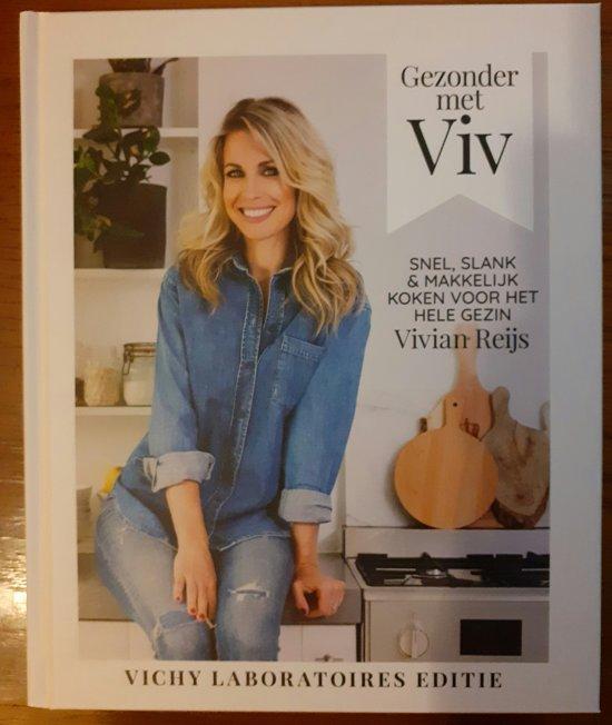 Boek cover Gezonder met Viv van Vivian Reijs (Hardcover)