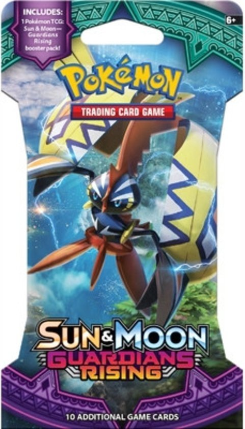 Pokémon Sun & Moon Guardians Rising Sleeved Booster - Pokémon Kaarten