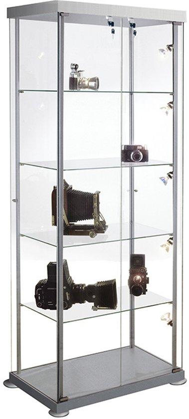 Vitrinekast Glas Rechthoekig Glasvitrine Met Slot