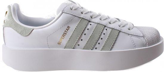 Verbazingwekkend bol.com | Adidas Sneakers Superstar R Bold Dames Wit Maat 39 1/3 BB-01