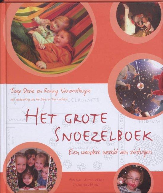 Cover van het boek 'Het grote snoezelboek'