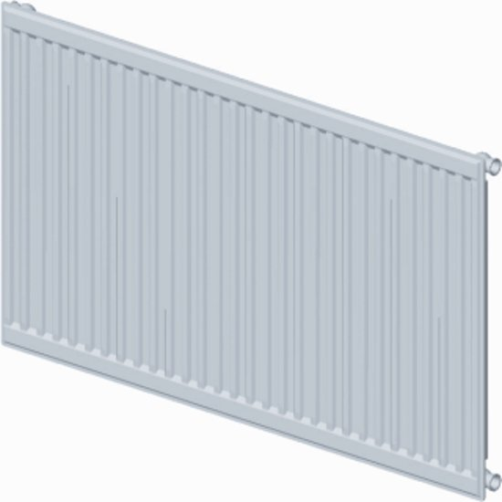 Stelrad paneelradiator Accord, staal, wit, (hxlxd) 600x1800x71mm, 11